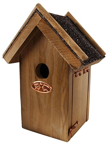 Esschert Fallen Fruits Wren Nest Box with Bitumen Roof NK03