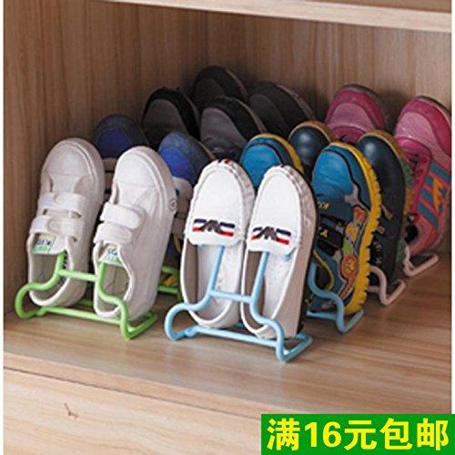 CWAIXX Rastrelliera per scarpe sandalo multifunzionale Sun Tan balcone guaxie scarpa mensola ganci di stoccaggio cremagliera verticale scarpa