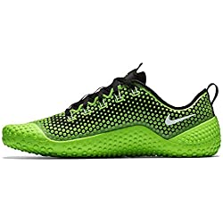 Nike Mens Free Trainer 1.0 Training Shoes Electric Green/Black/White 807436-310 Size 12.5