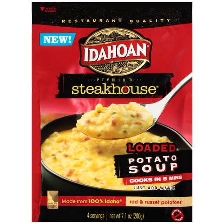 - Idahoan Loaded Steakhouse Soup Red and Russett (2 Pack)