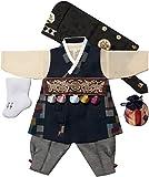 Hanbok Boys Babies kids Korean traditional costumes HANBOK 1st Birthday DOLDBOK hb1000/F