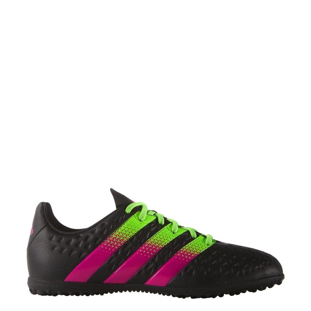 Adidas Kinder Fussballschuhe ACE 16.3 TF J CBLACK SGREEN SHOPIN 33