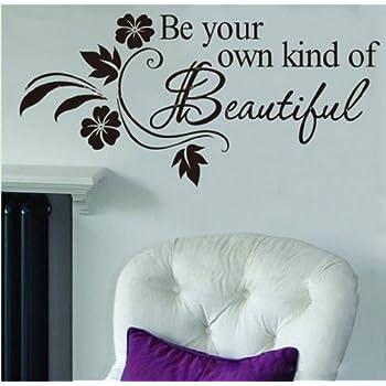 Amazoncom DREAM LIVE Girls Teen Bedroom Vinyl Wall Quote Art - Wall stickers for bedrooms teens