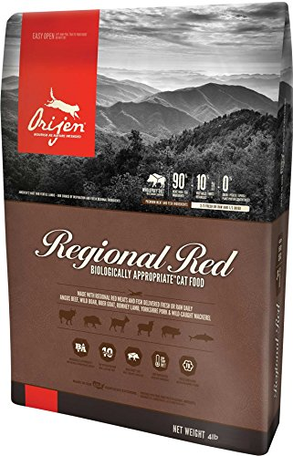 Orijen Regional Red for Cats 4 Pounds
