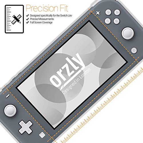 Screen Protector for Nintendo Switch Lite 2019 Model [4 pack] Tempered Glass Screen Protectors. No Bubbles Easy Installation Anti Scratch Edition