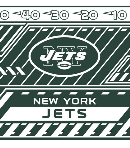 Nfl Stretch Book Covers - Turner NFL New York Jets Stretch Book Covers (8190186)