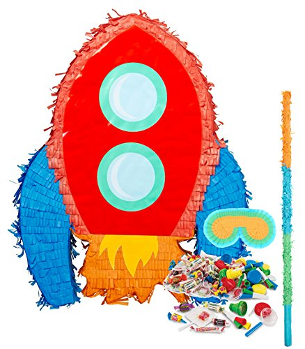 Solar System Rocket to Space Astronaut Party Supplies - Pinata Kit by BirthdayExpress