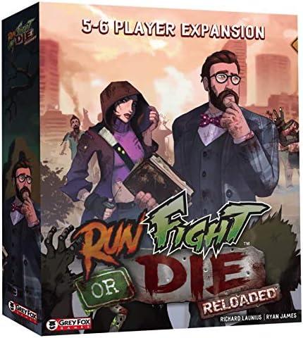 [해외]Run Fight or Die Reloaded: 5-6 Player Expansion / Run Fight or Die Reloaded: 5-6 Player Expansion