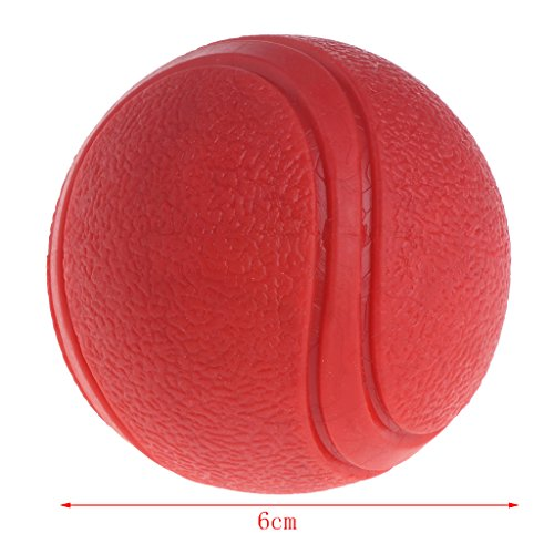 Richi 1 Pc Dog Toy Rubber Ball Bite-resistant Dogs Puppy Teddy Pitbull Pet Supplies paly - Good Paly