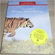 pechenik guide to writing about biology