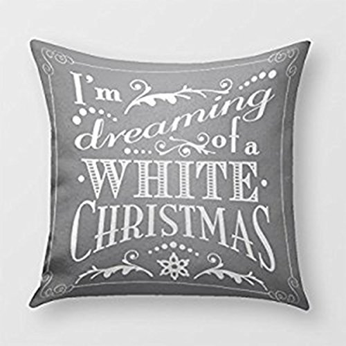 SIXSTARS Dreaming Of A White Christ Chalkboard Holiday Throw
