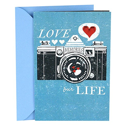 Hallmark Father's Day Greeting Card for Husband (Grateful and Lucky to be Your Wife)