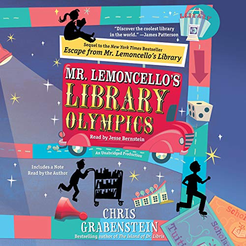 Mr. Lemoncello's Library Olympics Audiobook [Free Download by Trial] thumbnail