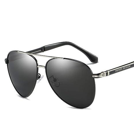 KYS Gafas de Sol polarizadas Gafas de Sol Tipo Aviador Gafas ...