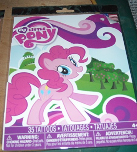 Savvi My Little Pony - Temporary Tattoos - 35 Tattoos in Package -  Hasbro