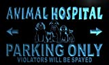 ADV PRO n102-b Animal Hospital Parking Only Neon Light Sign
