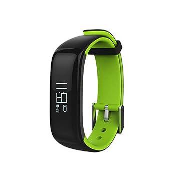 GXY Pulsera Inteligente Monitor De Frecuencia Cardíaca Reloj Deportivo Podómetro Pantalla De Información del Llamador A