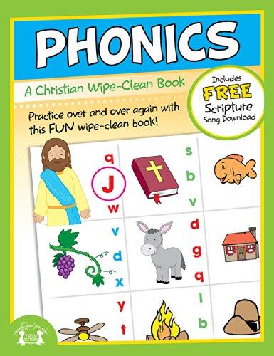 Phonics Christian Wipe-Clean Workbook (Let's Do It Again! Workbooks)
