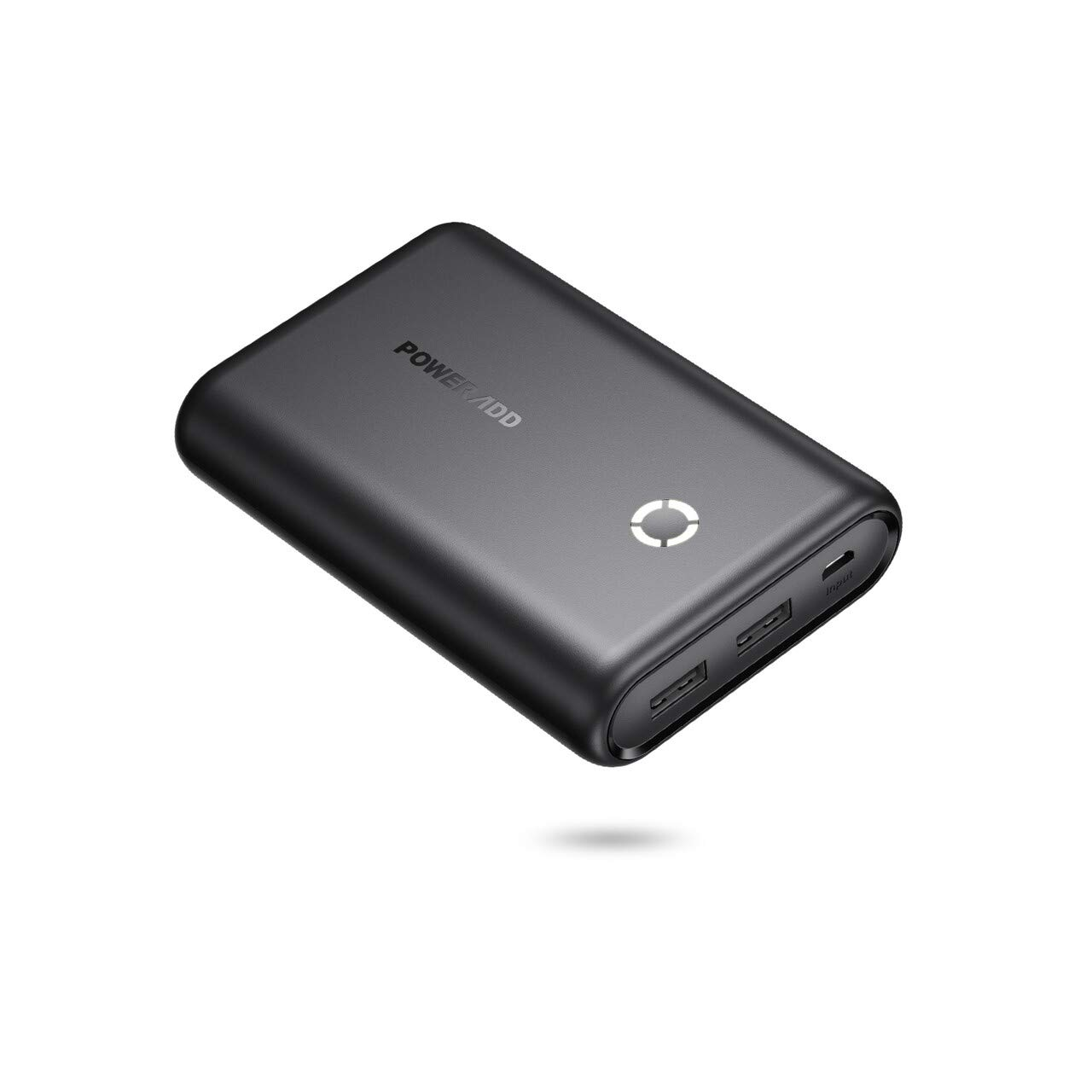 Poweradd 15000mAh Portable Charger Power Bank Compatible for iPhone, iPad, Samsung, Huawei, most other Phones and Tablets-Black