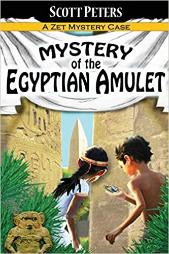 Adventure Books For Kids Age 9-12 Mystery of the Egyptian Amulet