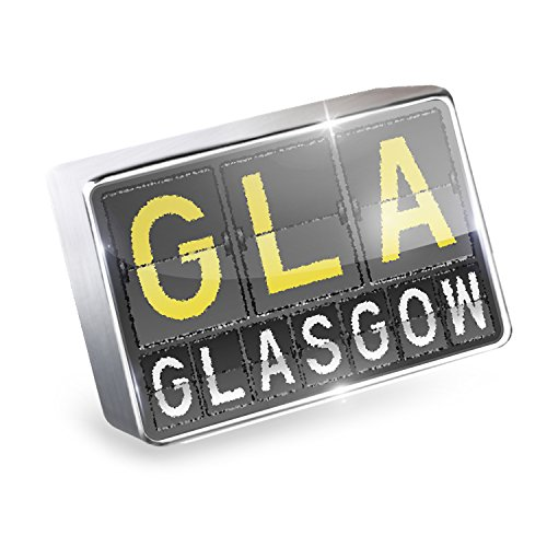 Floating Charm GLA Airport Code for Glasgow Fits Glass Lockets, - Shops Glasgow Airport