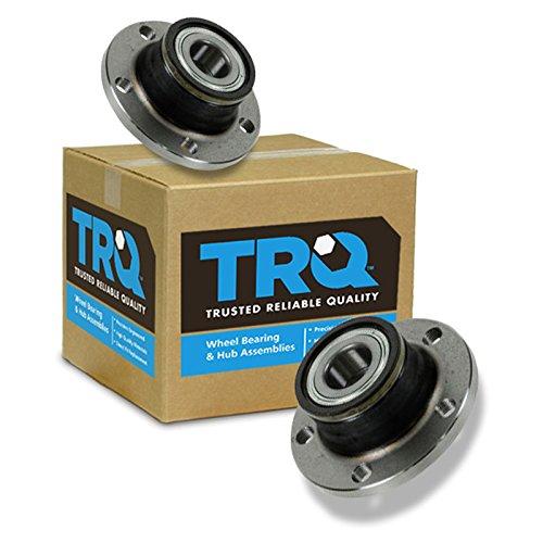 TRQ Rear Wheel Hub & Bearing Left LH & Right RH Pair for Audi TT Passat Jetta ()