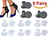 High Heel Protectors, Heel Stopper with 3 Size, Small / Middle/ Large (9 Pairs)
