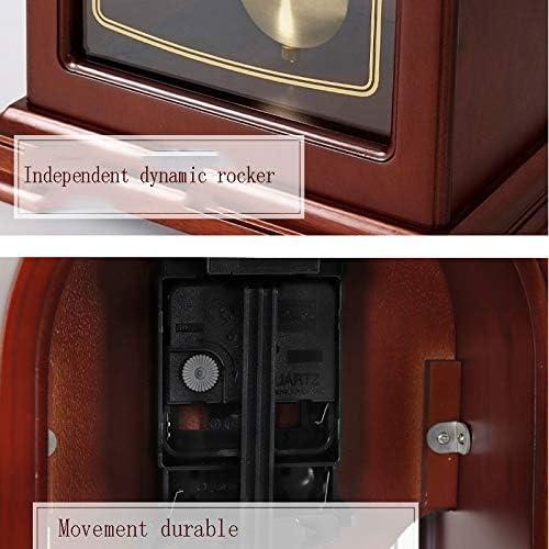 Hkwshop Reloj de Escritorio Reloj de péndulo Silencio Reloj de ...