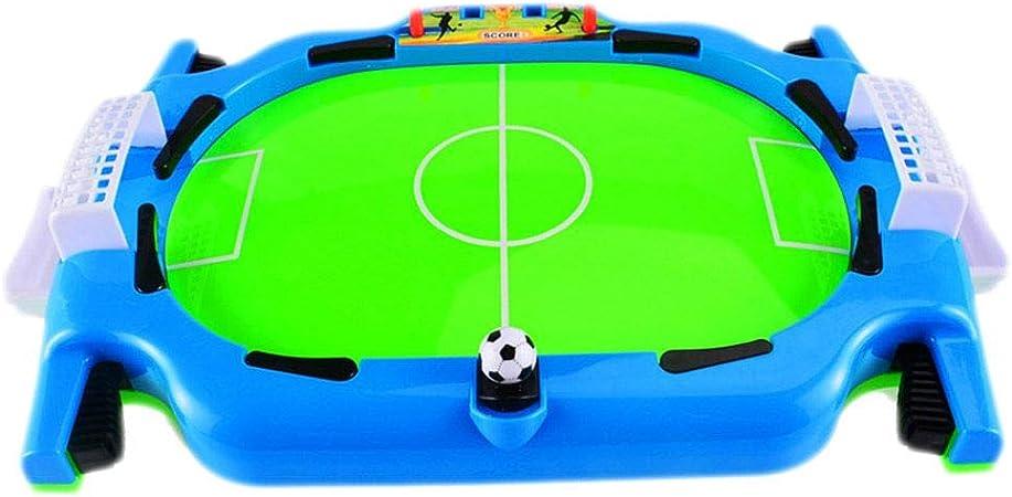 Rekkles Mini Mesa Juguete Mesa de fútbol Que Tira Defensa Juego de Mesa de fútbol Deporte Partido niños preescolares Juguetes del Juego de Pelota: Amazon.es: Hogar