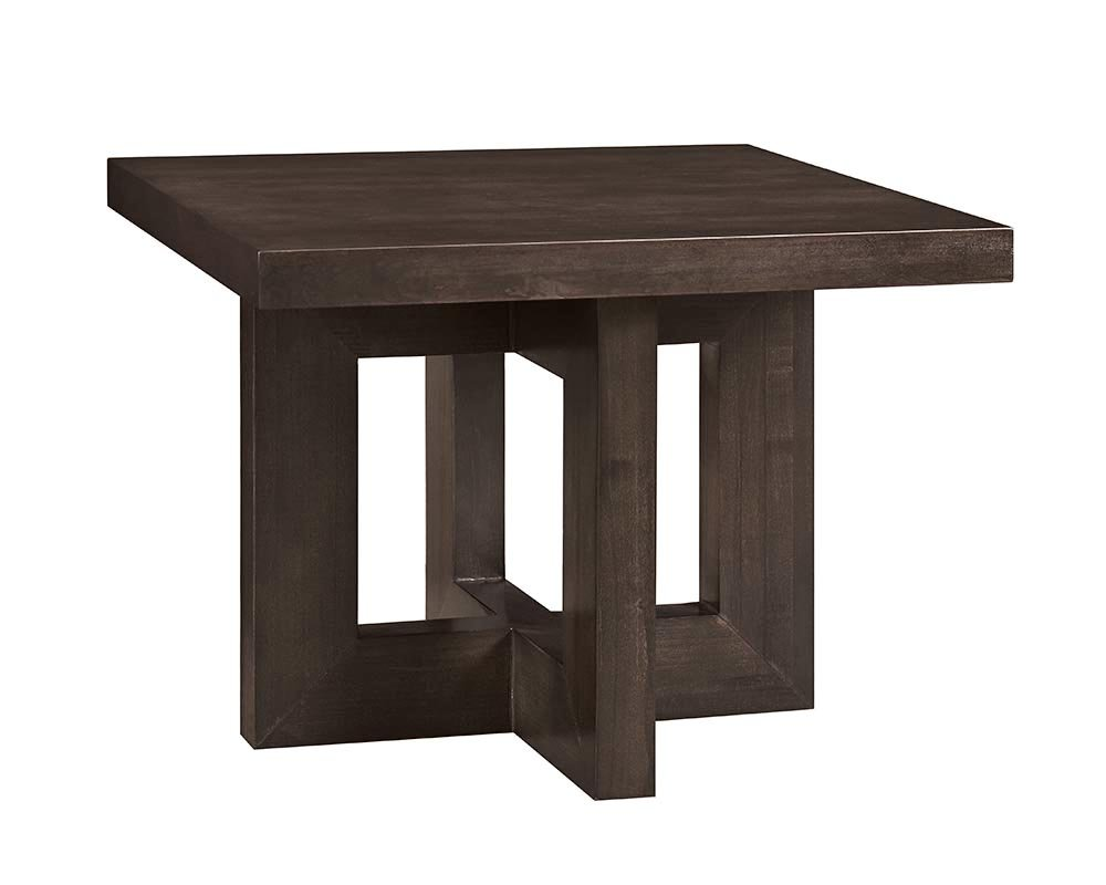 Furniture At Home Food & Wine Reserve Collection End Table, Ebony - Hand selected poplar solids and quality craftsmanship means sturdy construction for long-lasting wear Top selected birch veneer gives this table a touch of class Hand finished in a rich ebony rub - living-room-furniture, living-room, end-tables - 51Zywbm5C4L -