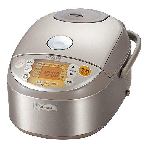 [5.5] If cooked IH pressure rice cooker stainless ZOJIRUSHI NP-NV10-XA
