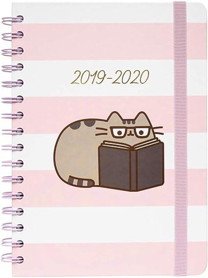 Agenda Escolar 2019/2020 A5 12 Meses Pusheen Rose Collection ...