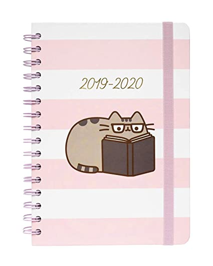 Agenda Escolar 2019/2020 A5 12 Meses Pusheen Rose Collection ...