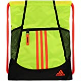 Adidas Solar Yellow Best Deals - adidas Alliance II Sackpack, Solar Yellow/Black/Solar Red, One Size