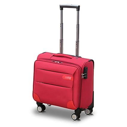 Amazon.com: Maleta de viaje para equipaje de mano giratorio ...