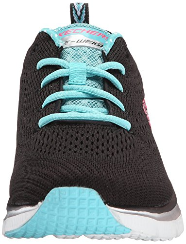 nbsp;Statement Women's UK Fashion Piece Fit Navy Bktq Black Mehrfarbig Sneaker Skechers 3 qdBzEwWnd