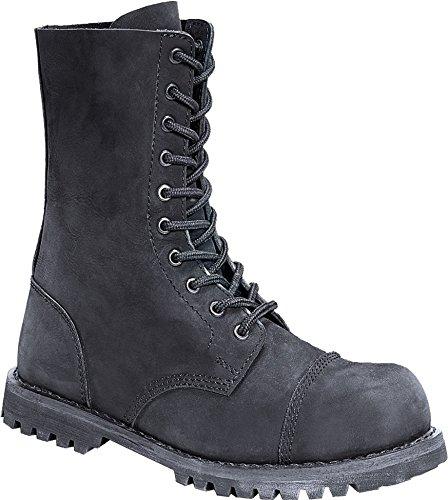 Nubukleder UK Ranger Leather 5 10 Loch Phantom Stahlkappe Schuhe Boots R4nwqg