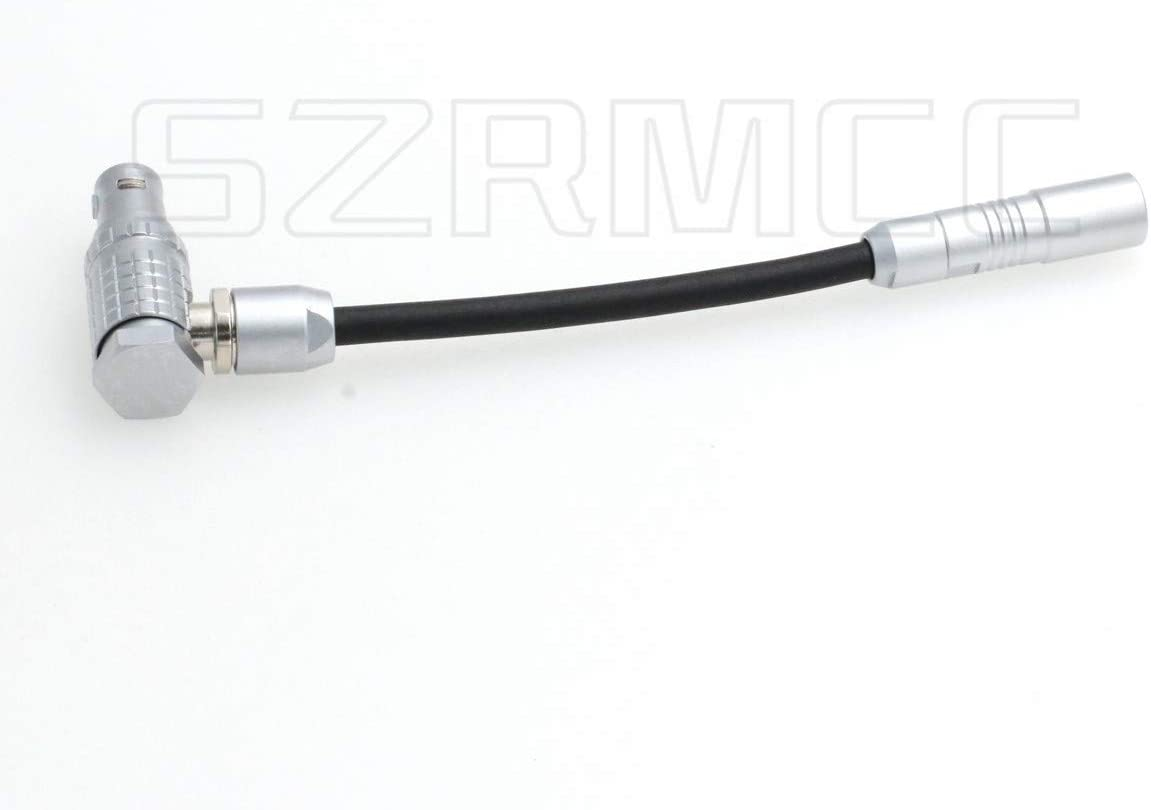 SZRMCC Fischer 3 Pin Female to 1B 7 Pin Male EXT to RS Conversion Cable for ARRI Alexa Mini Remote Boot Run Stop