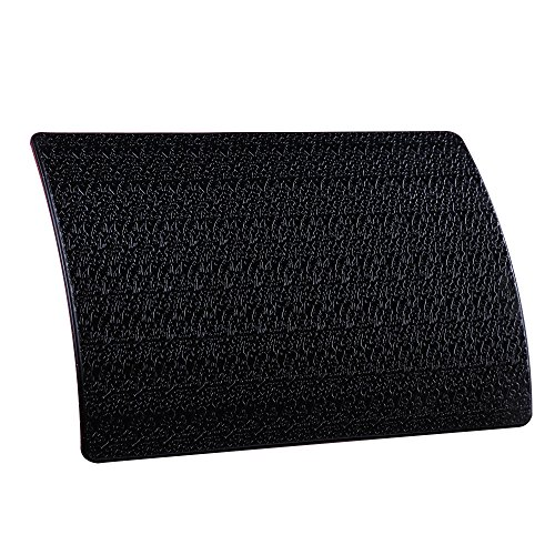 Extra Thick Sticky Anti-Slip Gel Pad, Mini-Factory PREMIUM Universal Non-Slip Dashboard Mat for Cell Phones, Sunglasses, Keys, Coins and more - Black (Large Size: 7.8