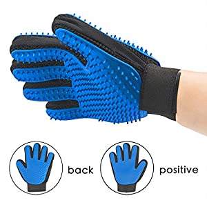 [Newest] Two-Sided Pet Grooming Glove 23