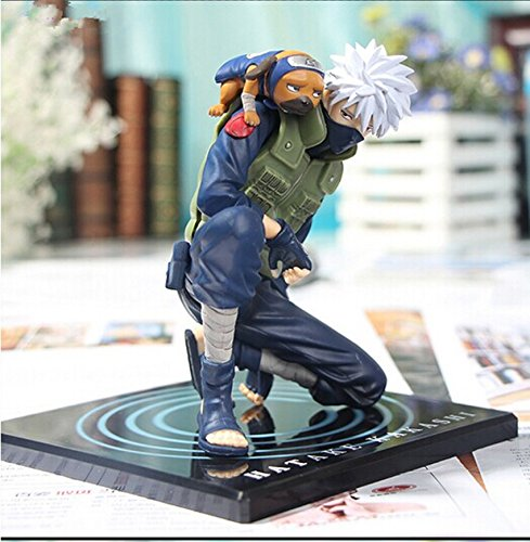 - Anime GEM Naruto Hatake Kakashi PVC Action Figure Collection Model Toy 15cm Retail 1 pcs