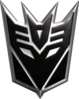 amazon com metal transformers autobot decepticon symbol keychain