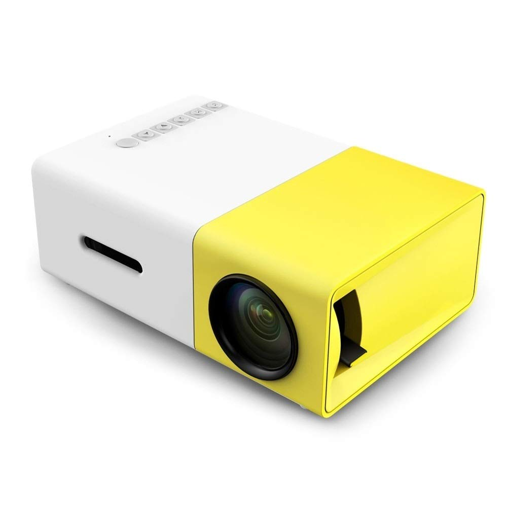 Amazon.com: Mini Projector LCD LED 400-600LM 1080p Video 320 ...