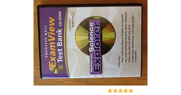 Amazon.com: ExamView Test Bank CD-ROM for Prentice Hall Science ...