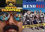 space academy dvd - Listen Here Meow I Want a Liter O' Cola Mega Pack: Super Troopers & Reno 911! Complete First Season Movie/ Show DVD Bundle