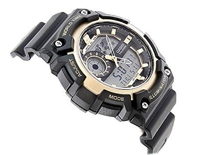 Casio Reloj Analógico-Digital para Hombre de Cuarzo con Correa en Resina AEQ-200W-9AVEF: Amazon.es: Relojes