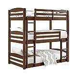 Dorel Living DL7891TBB Sierra Bunk Bed, Triple Bunkbed