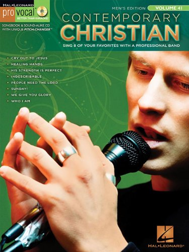 Read Online Contemporary Christian: Pro Vocal Men's Edition Volume 41 pdf epub