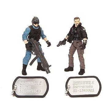 True Heroes Soldier 2Pack Slick/Barracuda by Toys R Us: Amazon.es: Juguetes y juegos