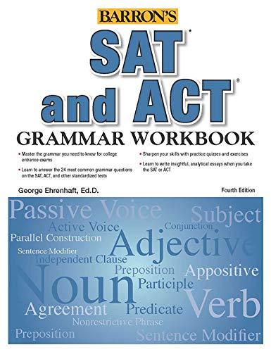 SAT and ACT Grammar Workbook